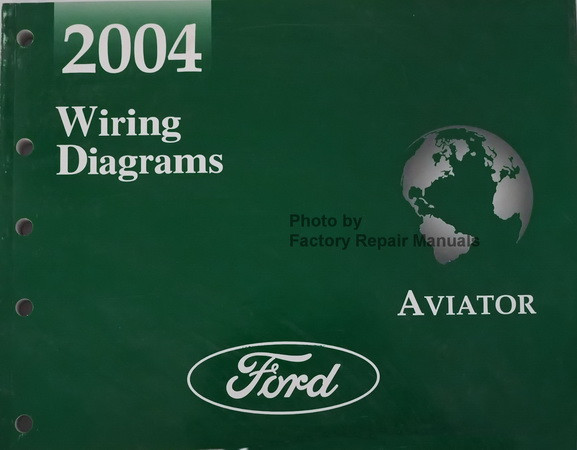 2004 Lincoln Aviator Electrical Wiring Diagrams Manual