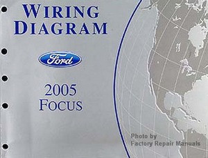 2005 Ford Focus Electrical Wiring Diagrams Original Factory Manual