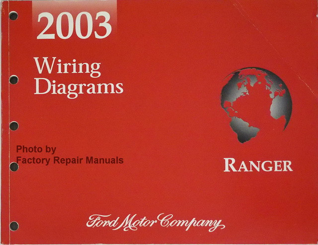 2003 Ford Focus Wiring Diagram Manual Original
