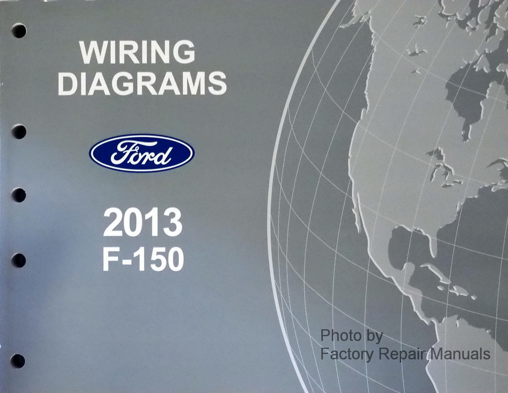 mercury outboard wiring diagram schematic amana electric dryer 2013 ford f-150 electrical diagrams f150 truck original new - factory repair manuals