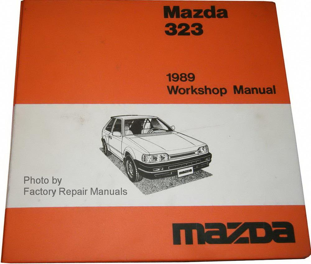 1989 Mazda 323 Factory Shop Manual & Wiring Diagrams