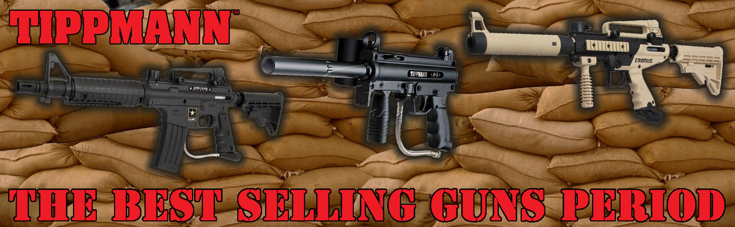 Best Paintball Guns and Paintball Gear at Low Prices
