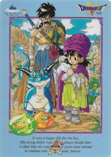 Dragon Quest V Pencil Board Shitajiki