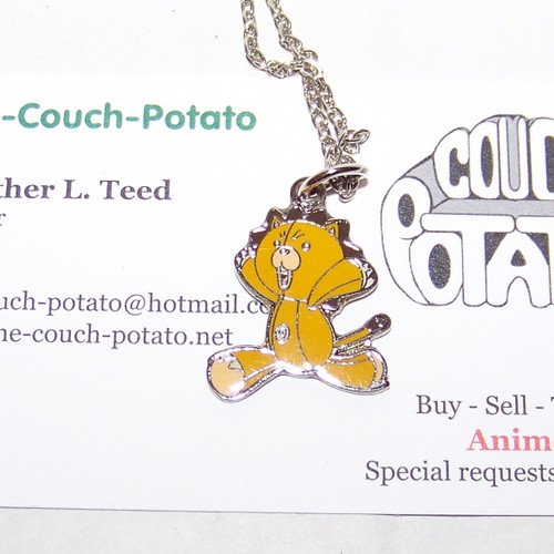 Bleach Kon lion Necklace