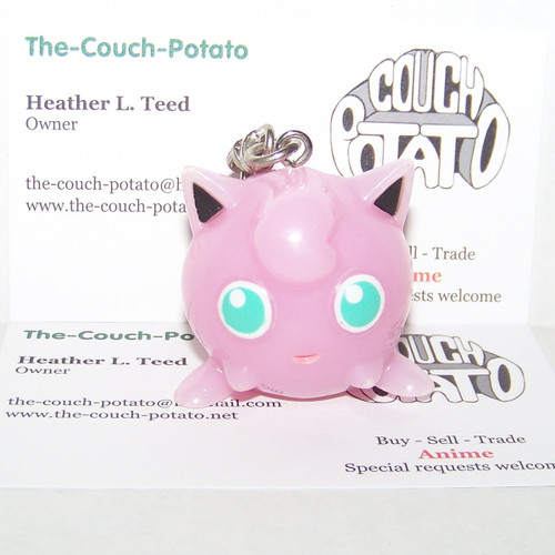 Pokemon Jigglypuff light-up keychain