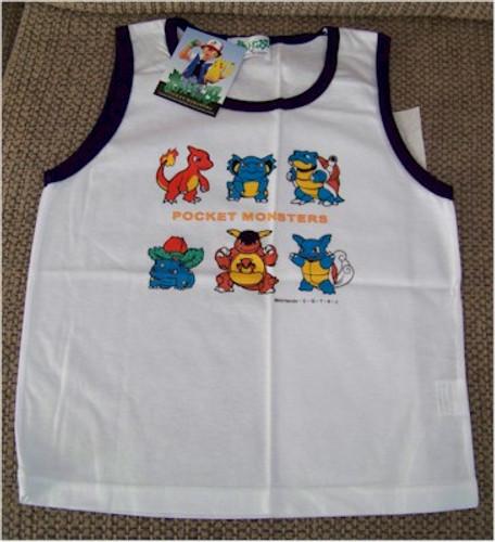Pokemon Shirt Pocket Monsters Tank top