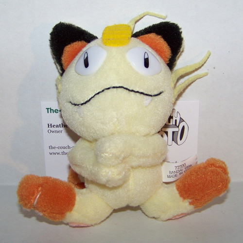Pokemon Meowth Friends Plush