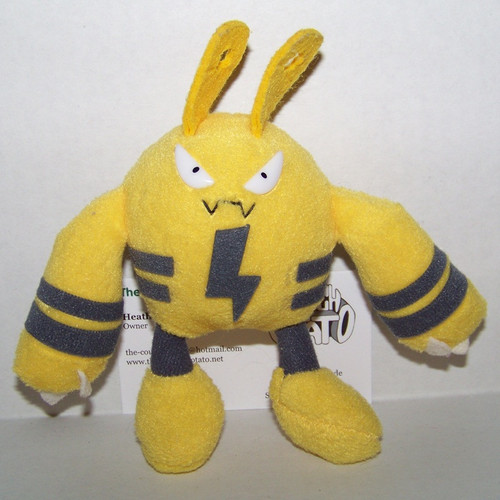 Pokemon Elekid Friends Plush