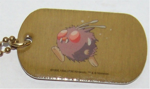 Pokemon Venonat Dogtag necklace