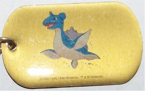 Pokemon Lapras Dogtag necklace