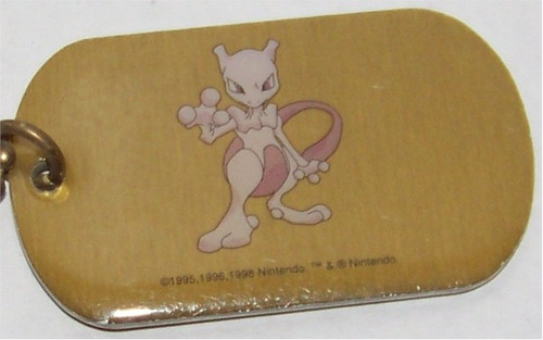 Pokemon Mewtwo Dogtag necklace