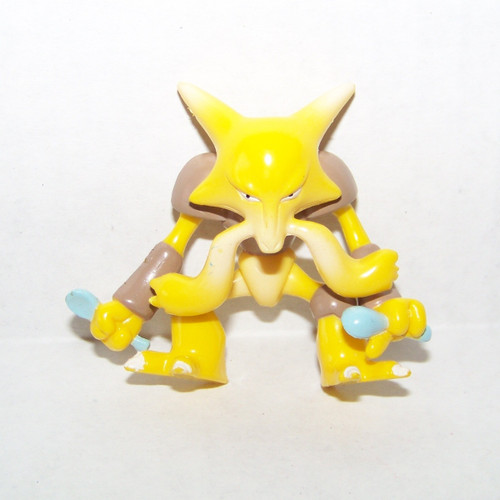 Pokemon Alakazam Tomy Figure