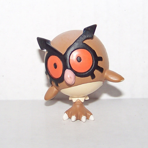 Pokemon Hoothoot Tomy Figure