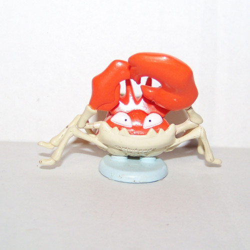 Pokemon Kingler Tomy Figure