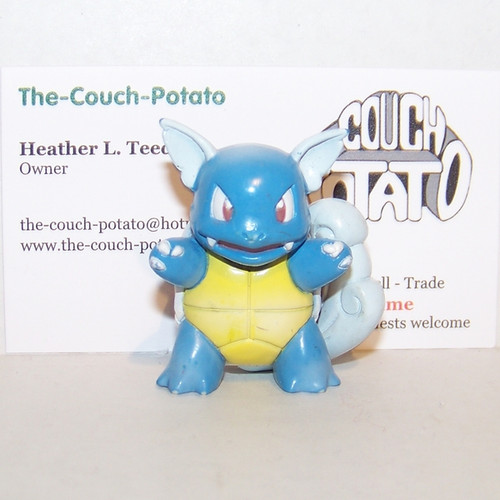Pokemon Wartortle Tomy Figure