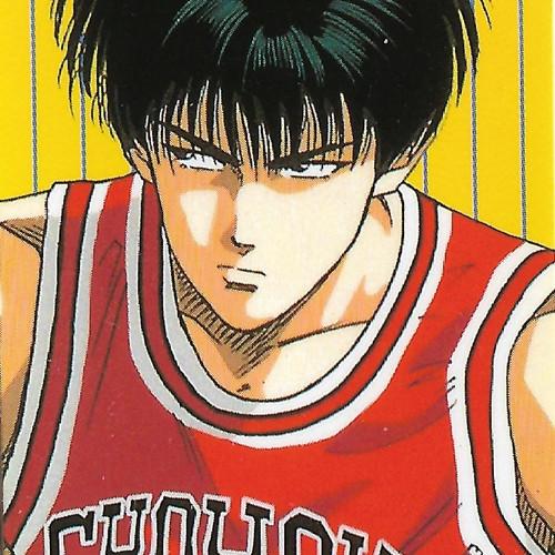 Slam Dunk Kaede Rukawa Bookmark Sticker
