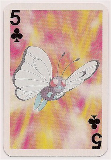 Pokemon Butterfree Mini Playing Card