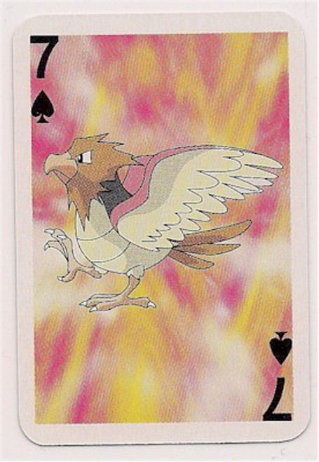 Pokemon Spearow Mini Playing Card