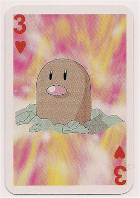 Pokemon Diglett Mini Playing Card