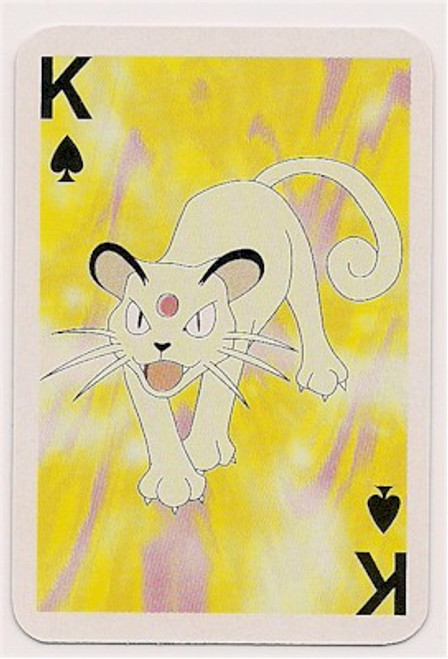 Pokemon Persian Mini Playing Card