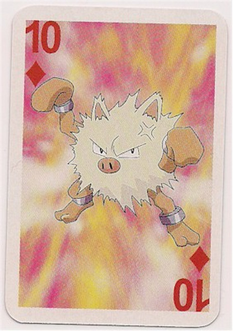 Pokemon Primeape Mini Playing Card