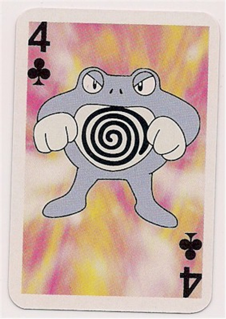 Pokemon Poliwrath Mini Playing Card