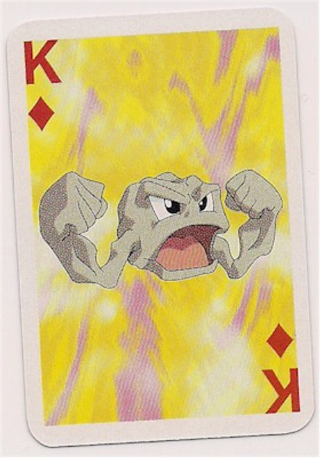 Pokemon Geodude Mini Playing Card