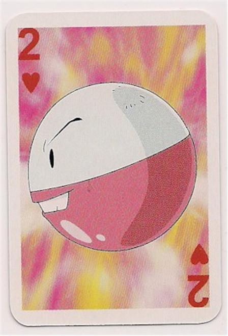 Pokemon Electrode Mini Playing Card