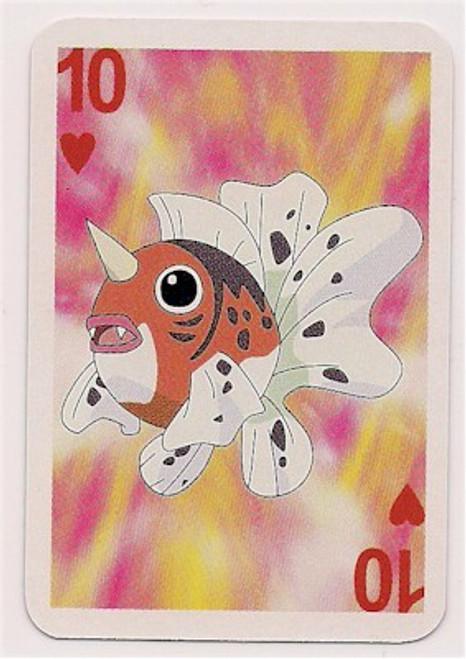 Pokemon Seaking Mini Playing Card
