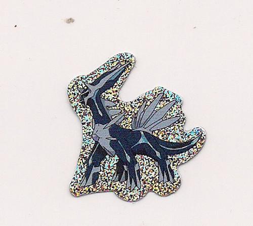Pokemon Dialga small foil sticker