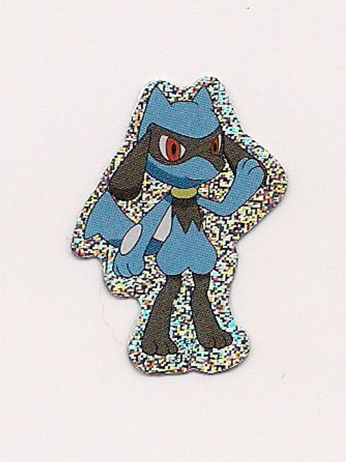 Pokemon Riolu small foil sticker