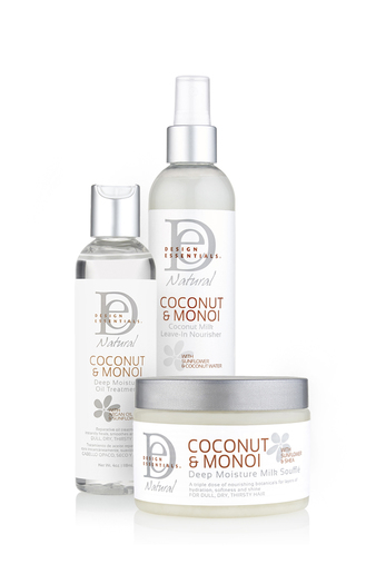3 step natural hair hydrating system
