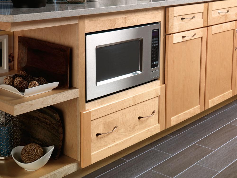 Kraftmaid Built In Microwave Cabinet Cabinets Matttroy
