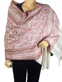 Wool Shawl Throw Blanket Embroidered Traditional Indian ...