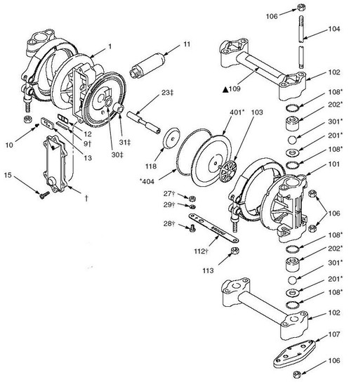 husky pressure washer pump diagram 2 way switch wiring home graco 307 diaphragm parts - john m. ellsworth co. inc.