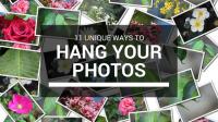 12 Unique Ways to Hang Your Photos - Pallucci Furniture