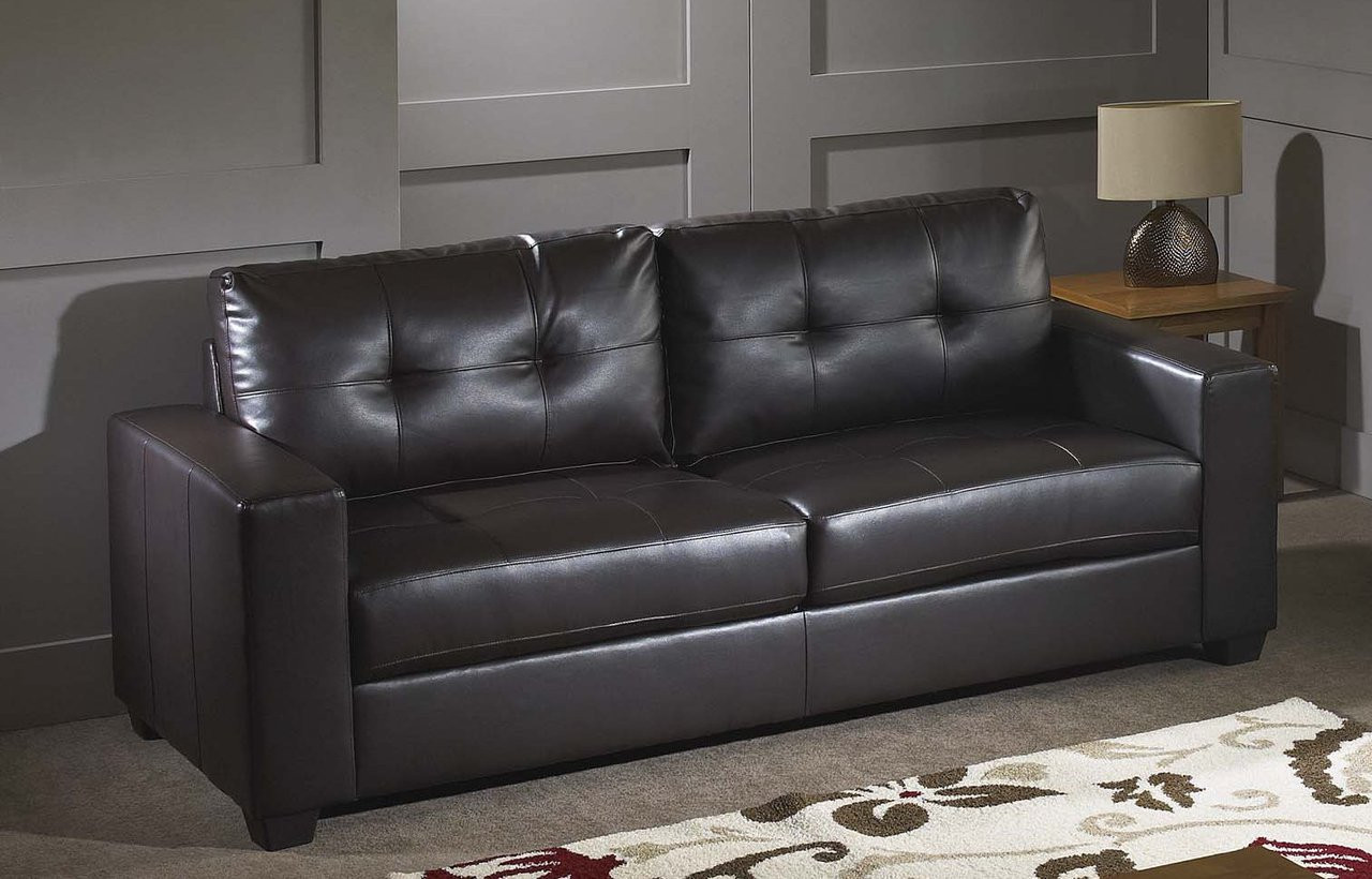 black leather sofa 4 seater lacey bonded pallucci furniture 100 loading zoom