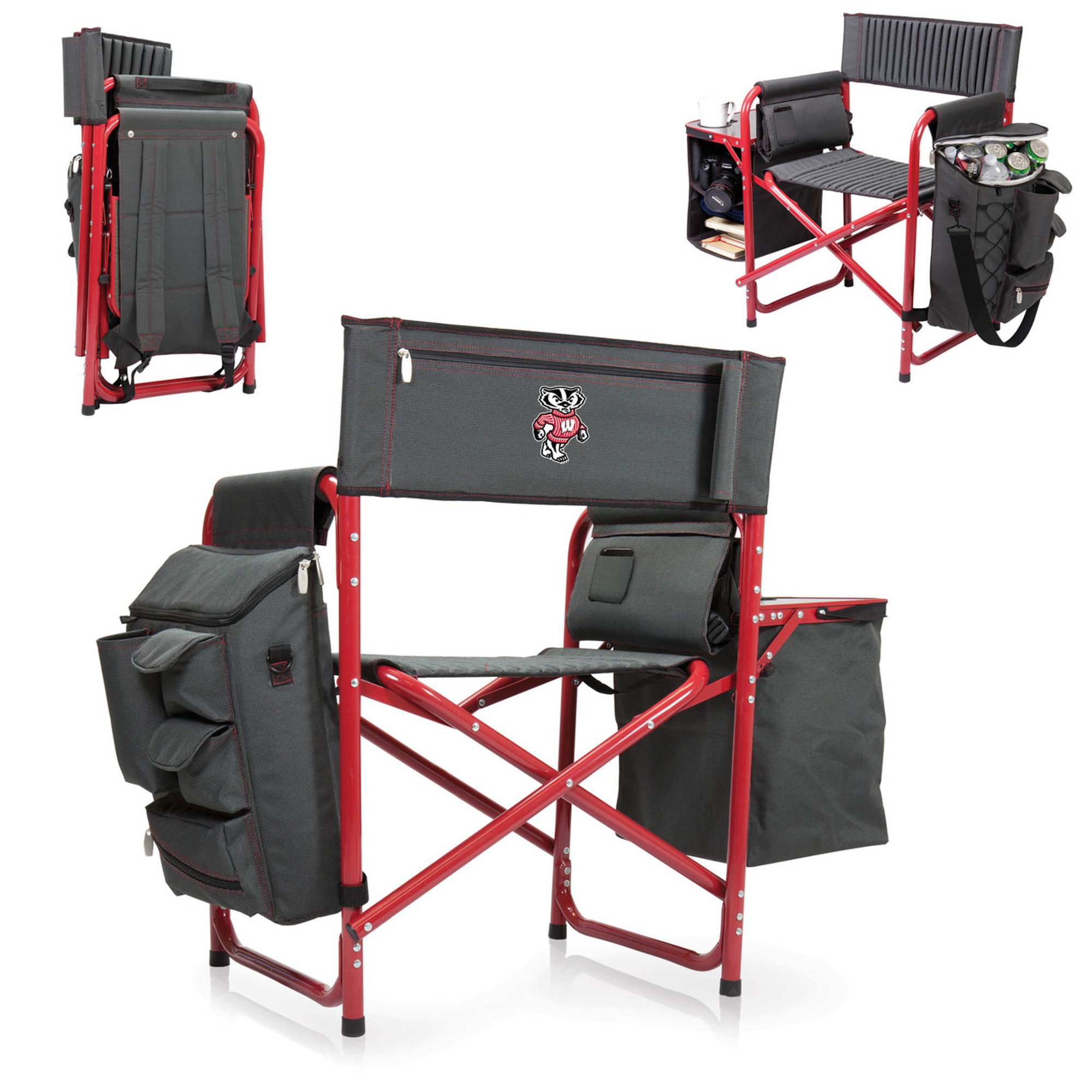 Tailgating Chairs Wisconsin Badgers Fusion Tailgating Chair