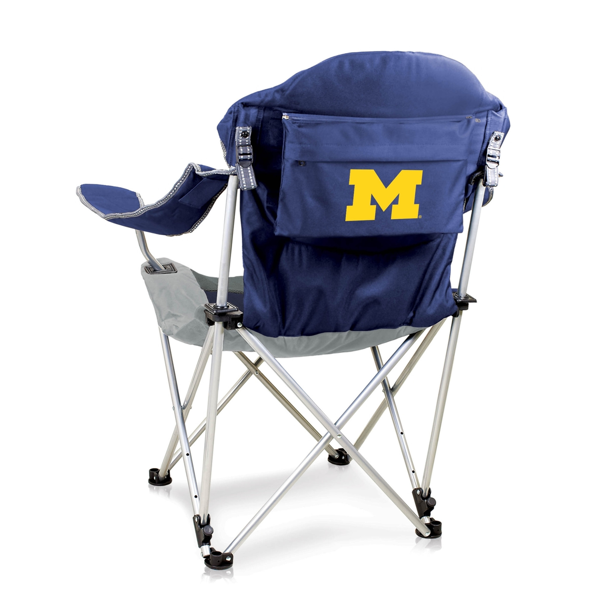 lsu folding chairs high back mesh chair with headrest michigan wolverines reclining camp