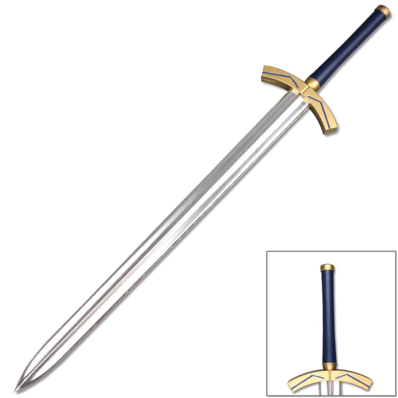 Saber's Excalibur FOAM Sword Fate TYPE-MOON Noble Phantasm Cosplay LARP Replica - Edge Import