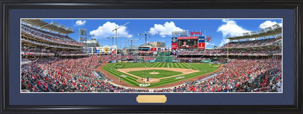 Washington nationals opening day at park panoramic poster also ballpark ballparks of baseball rh ballparksofbaseball