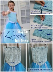 ice queen & princess dresses