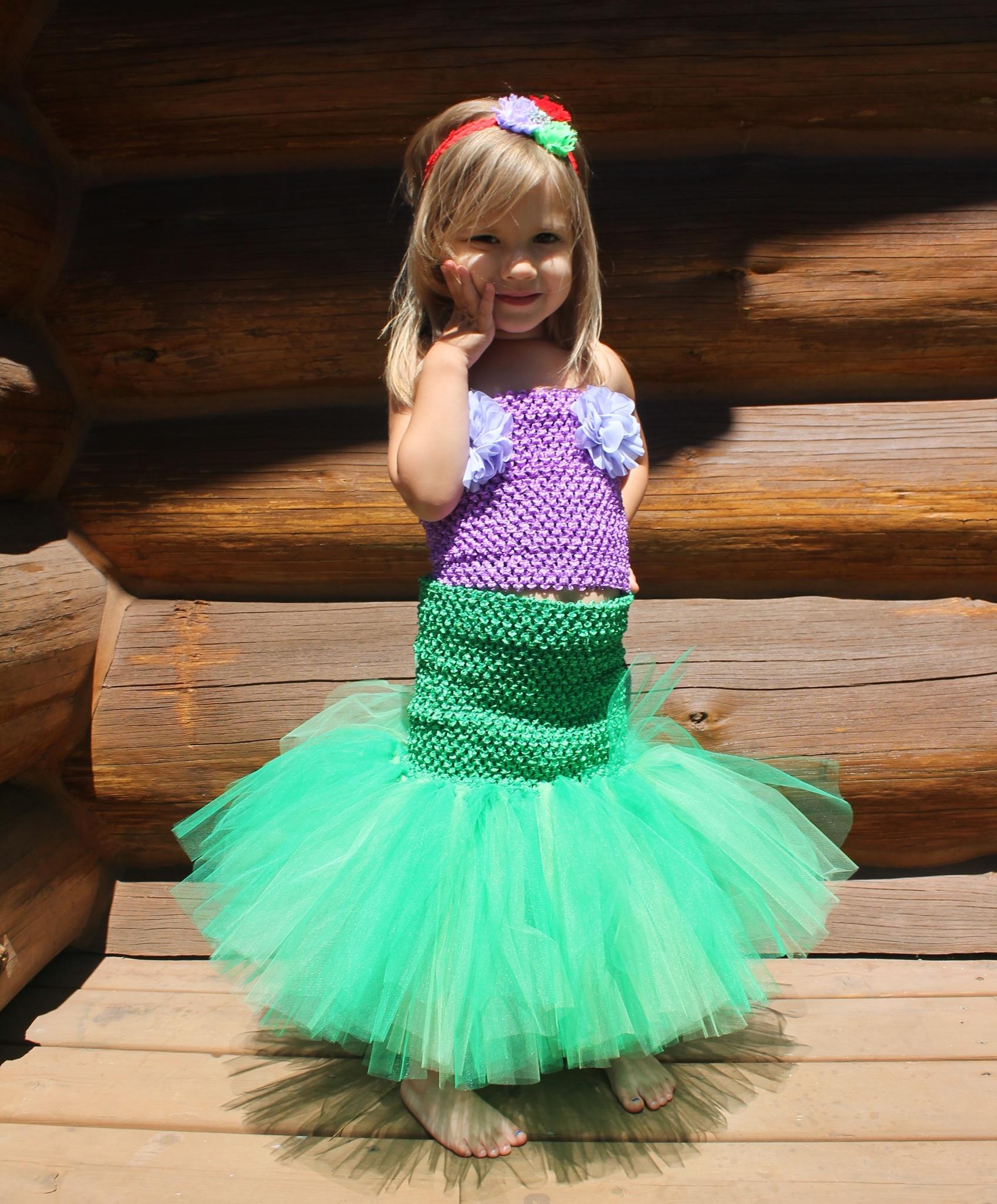 Mermaid Dress Tutorial - Hair Bow Company