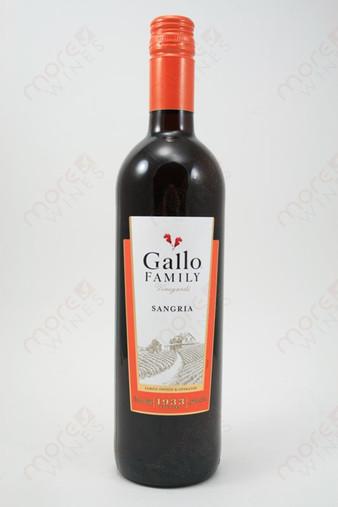 Gallo Family Sangria 750ml  MoreWines
