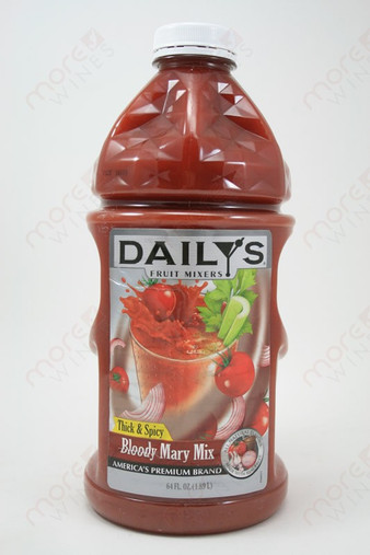 Dailys Thick and Spicy Bloody Mary Mix 189L  MoreWines