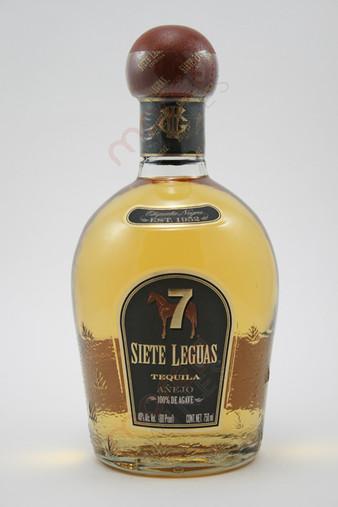 Siete 7 Leguas Tequila Anejo 750ml  MoreWines