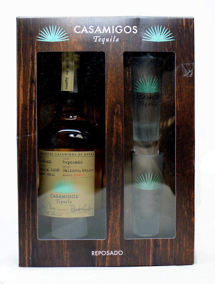 CASAMIGOS TEQUILA Reposado Gift Set  wwwoldtowntequilacom