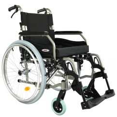 Wheelchair Ebay High Top Table And Chairs Outdoor Folding Back Alloy Armrests 24 Quot Wheels Manual