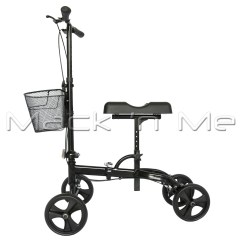 Wheelchair Knee Bean Bag Chairs Ikea Walker Scooter Mobility Alternative Crutches