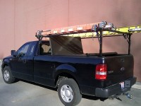 Stake Pocket Truck Tonneau Ladder, Lumber, Kayak or Canoe